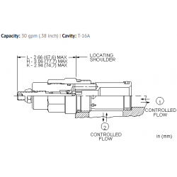 NFECLEN Fully adjustable needle valve