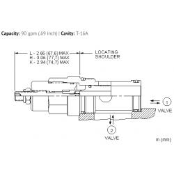NFEDLHN Fully adjustable needle valve