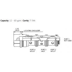 FSFDXAN Flow divider valve