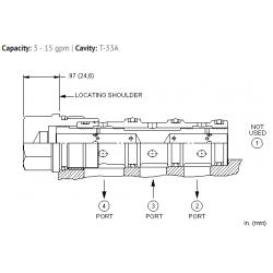 FSECXAN High accuracy flow divider valve