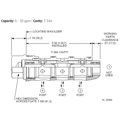 FSFGXAN High accuracy, closed center, flow divider-combiner valve