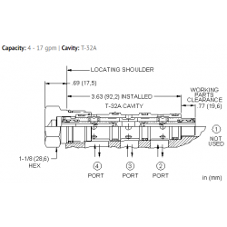 FSDHXAN High capacity, closed center, flow divider-combiner valve