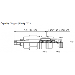 LPFCLDN Tuneable, normally open modulating element