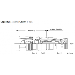 LPDSXHN Normally open modulating element with shuttle