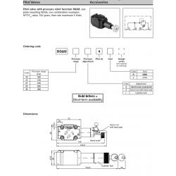 Accessories 2-Way Slip-In Cartridge Valves