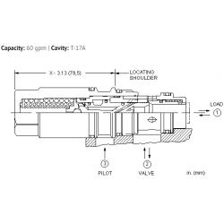 MBGMXIN Balanced load control valve