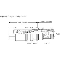 MWIMXIN Vented, balanced, load control valve