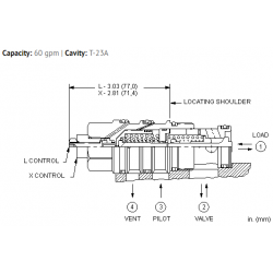 CVGVXCN Vented pilot-to-open check valve