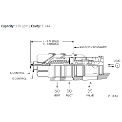 CVIVXCN Vented pilot-to-open check valve