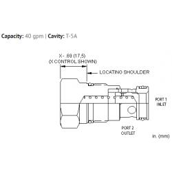 CXFAXCN Free flow nose to side check valve