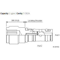 CXZAXCN Free flow nose to side check valve