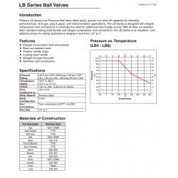 LB Series Ball Valves