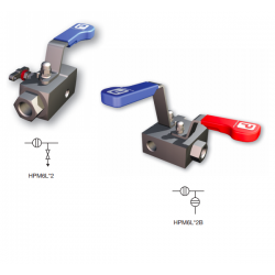 Hi-Pro single block and bleed manifolds