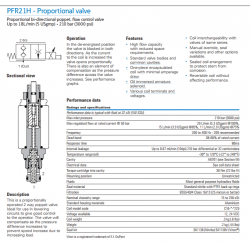 PFR21H - Proportional valve