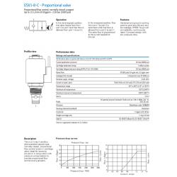 ESV1-8-C - Proportional valve