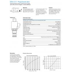 ESV1-12-C - Proportional valve
