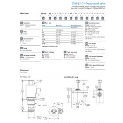 ESV1-12-O - Proportional valve