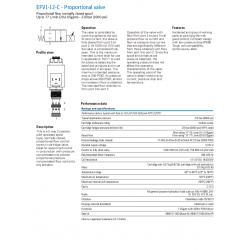 EFV1-12-C - Proportional valve