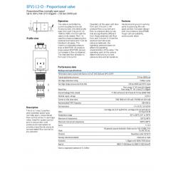 EFV1-12-O - Proportional valve
