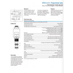 EFV2-12-O - Proportional valve