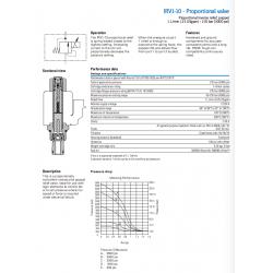 IRV1-10 - Proportional valve