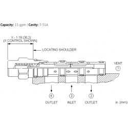 DSCYXEN 3-way, 2-position, vent-to-shift diverter valve, normally open