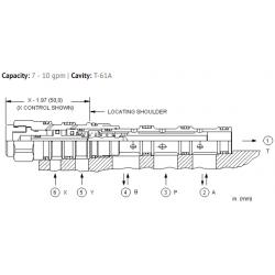 DCCFXXN 4-way, 2-position, pilot-to-shift directional valve