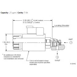 RBAPXAN Electro-proportional relief valve - pilot capacity