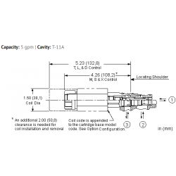 DMDASNN 3-way, soft shift, solenoid-operated directional spool valve