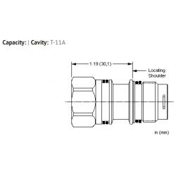 XEOBXXN All ports open cavity plug