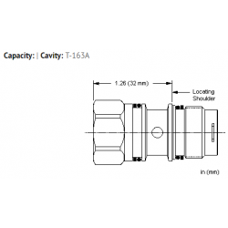 XZODXXN All ports open cavity plug