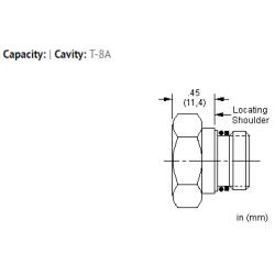 XAOAXXN All ports open cavity plug