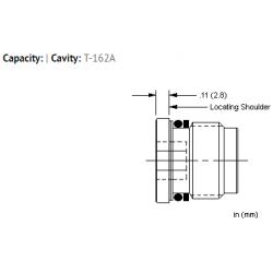 XZOCXXN Flush mount, all ports open cavity plug