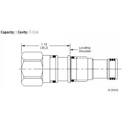 XECAXXN All ports blocked cavity plug