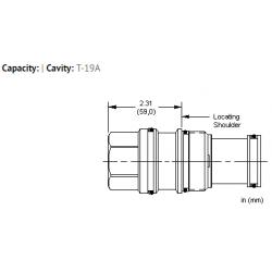 XJCAXXN All ports blocked cavity plug