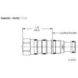 XMCAXXN All ports blocked cavity plug