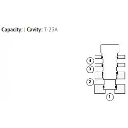 XPCAXXN All ports blocked cavity plug