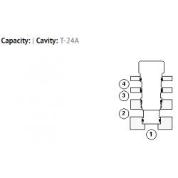 XQCAXXN All ports blocked cavity plug