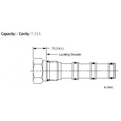 XRCAXXN All ports blocked cavity plug
