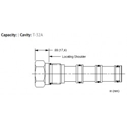 XSCAXXN All ports blocked cavity plug