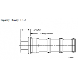 XTCAXXN All ports blocked cavity plug