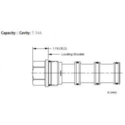 XVCAXXN All ports blocked cavity plug