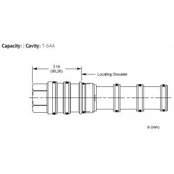 XVCCXXN All ports blocked cavity plug