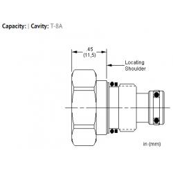 XACAXXN All ports blocked cavity plug