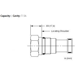 XCCAXXN All ports blocked cavity plug