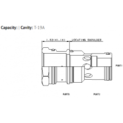 XJOCGXN T-19A cavity to T-17A cavity converter