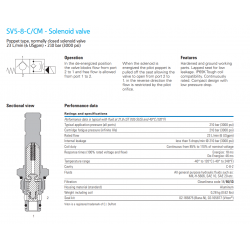 SV5-8-C/CM - Solenoid valve