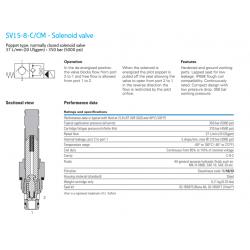 SV15-8-C/CM - Solenoid valve