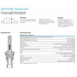 SV4-8-C/CM - Solenoid valve