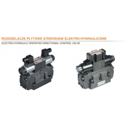 Electro-hydraulic operated directional control valve HPx4WH/WEH